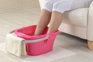 Подготовка ног к лечению