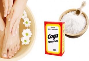 Сода обладает фунгицидным действием, поэтому быстро лечит микоз