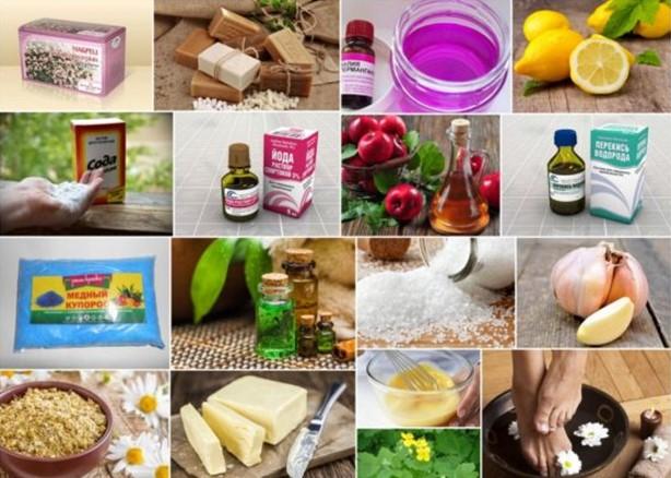 Продукты и средства, которых «боится» грибок