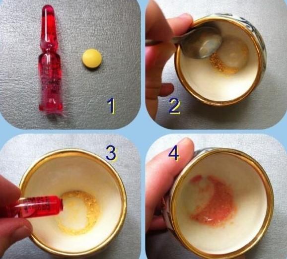 Приготовление раствора нистатина
