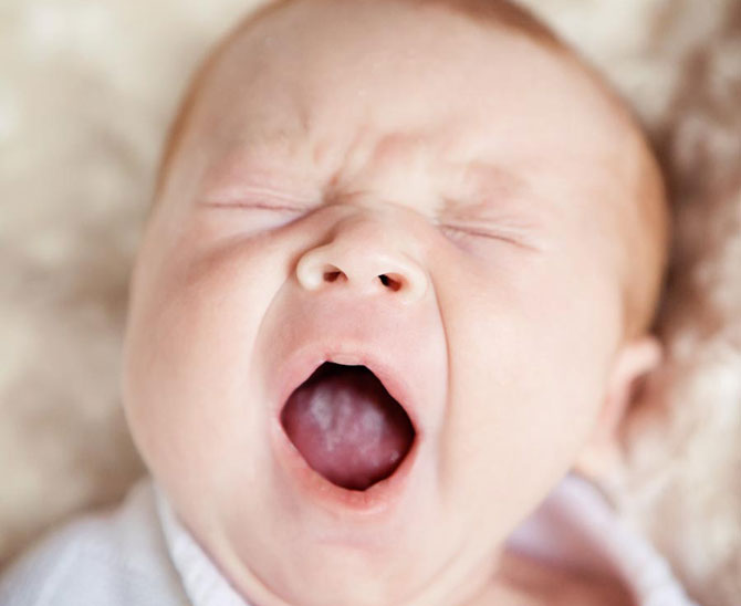 Лечение молочницы во рту у детей до года