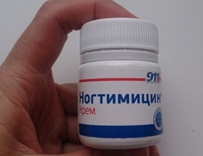 Ногтимицин – эффективный крем от грибка ногтей