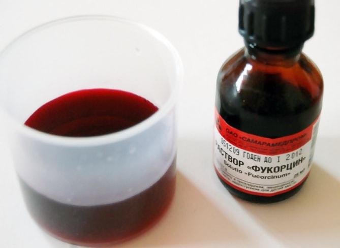 Фукорцин при грудном вскармливании